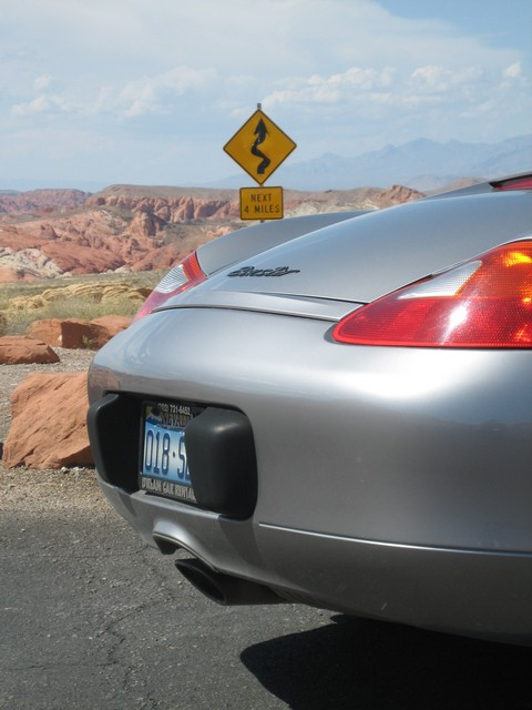 Boxster and 4 miles of curves