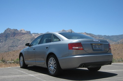 Audi A6 at Red Rocks