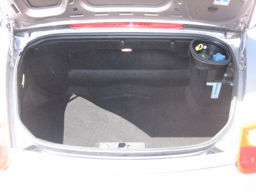 Boxster rear trunk
