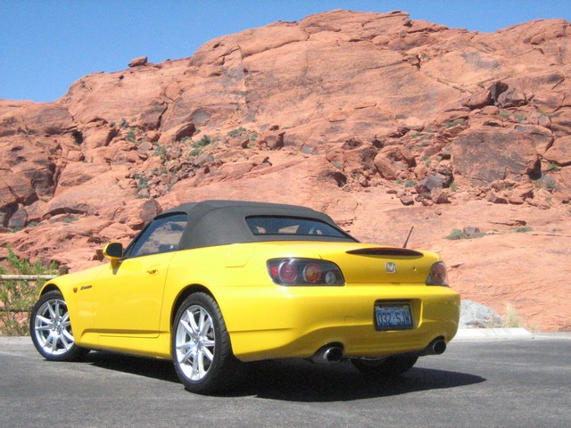 The S2000 at Red Rocks