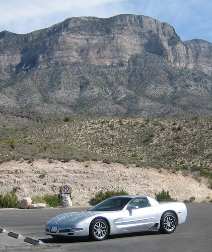 The Z06 at Red Rocks