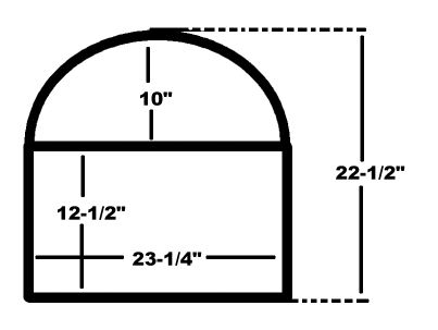 Amplifier rack dimensions
