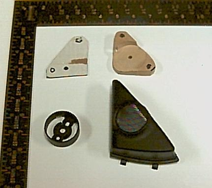 Tweeter mount components