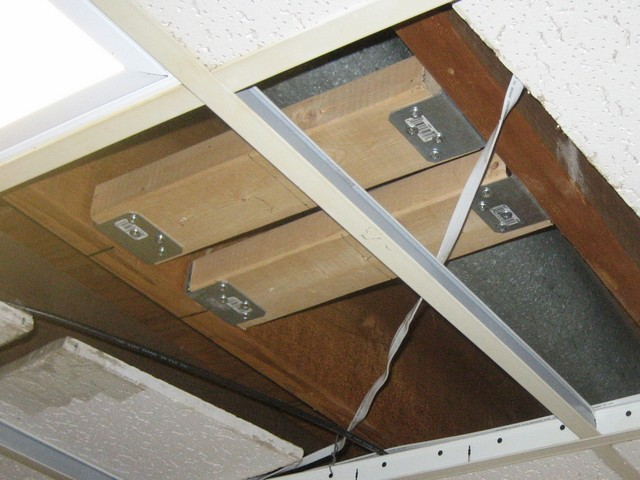 2x2 Mounting panel for drop-in ceiling? - AVS Forum | Home Theater Discussions And Reviews